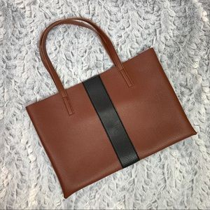 Vince Camuto Luck Tote in Red Desert